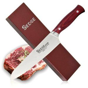 """SEDGE Chef's Knife 8"""" Pro ST Series in Gift Box -"""